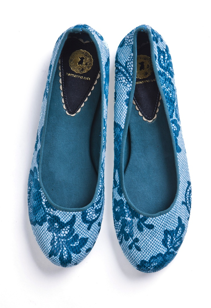 Pumps from Hermanna Rush... I love lace!