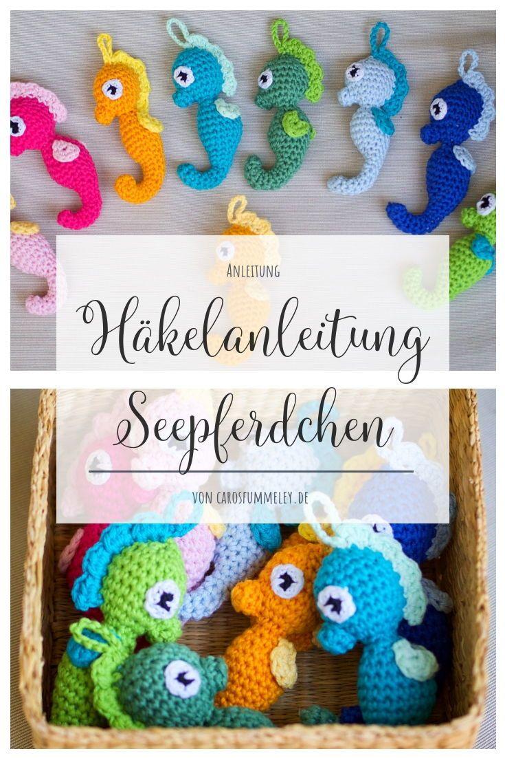 Crochet Amigurumi Seahorse  – ↠ DIY – Gruppe ↞