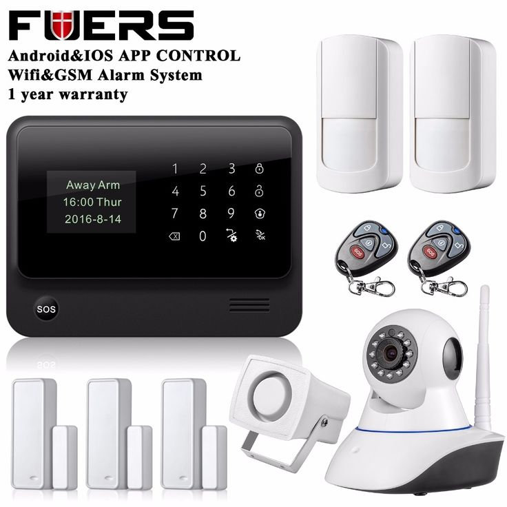147.83$  Know more  - Original G90B WIFI gsm alarm system with Touch keypad IOS Android APP control Home Security  Alarm System IP wifi camera