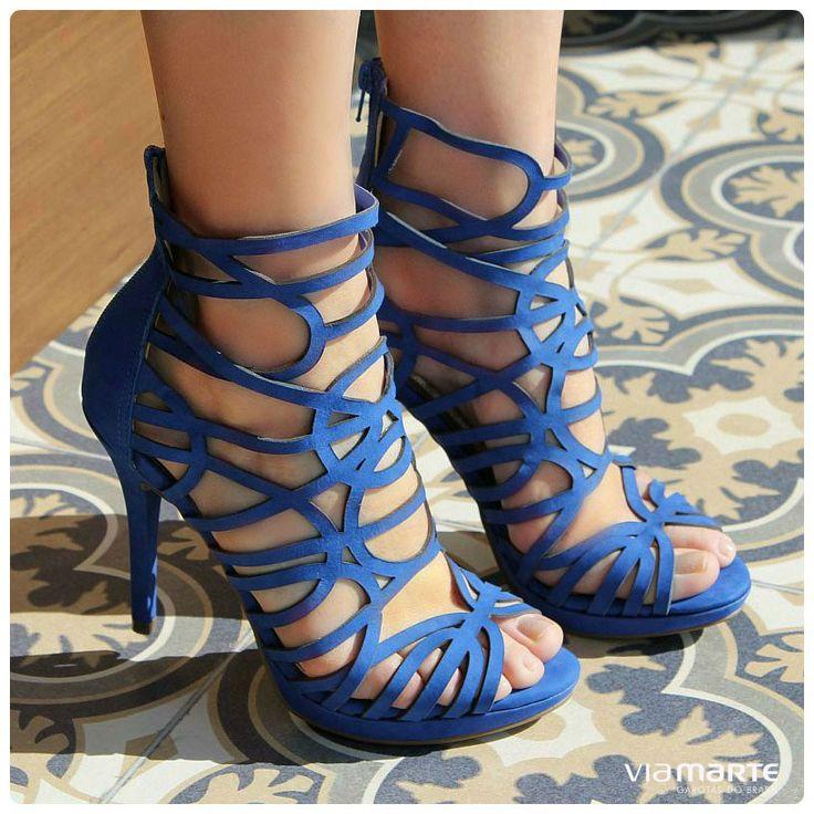 summer 2015 - verão 2015 - sandália gladiadora - salto alto - party heels - Ref. 14-19301