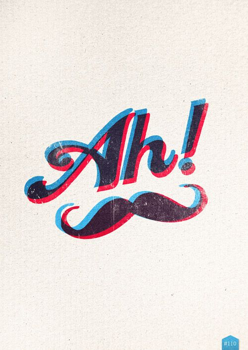 Ah!: Hipster, Parties Posters, Funny Mustache, Graphics Design, Frases Mustacho, 3D Glasses, White Mustache, Moustache Stuff, Postersdesign Crap