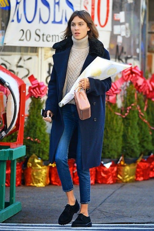 Alexa Chung Does Flawless Winter Style in NYC | The Front Row View