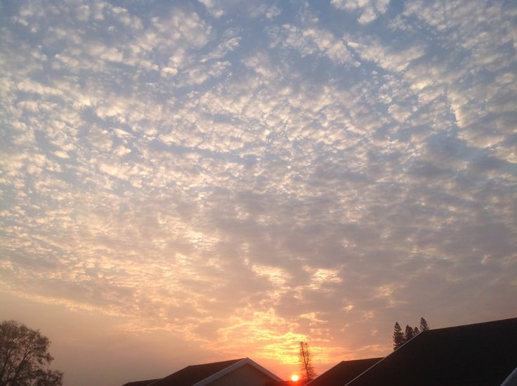 Every cloud has a silver lining - sunrise September 2014
