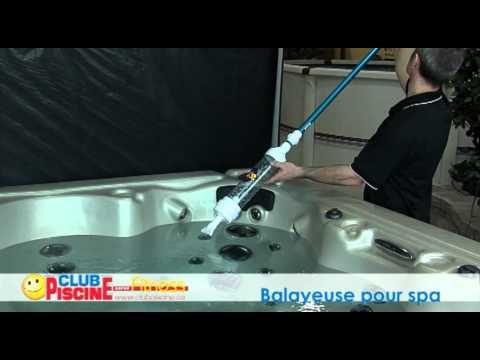 Comment utiliser la balayeuse pour spa