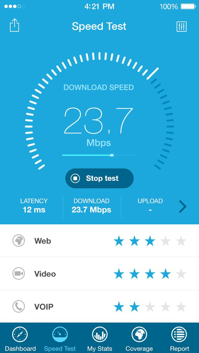 Speedtest_opensignal