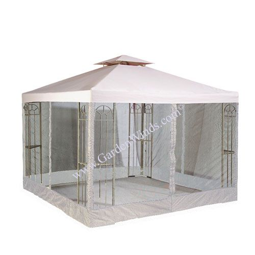 10 X Universal Replacement Canopy 2 Tiered W Net