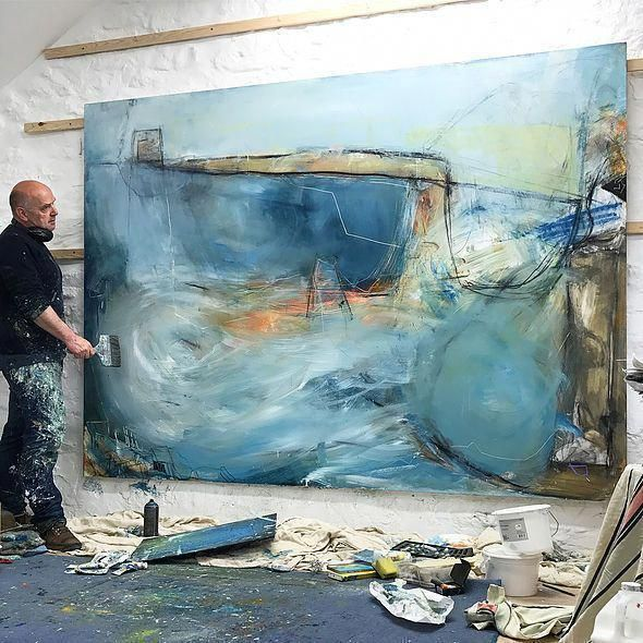 Pin By Rena Diana On David Mankin In 2020 Abstract Art Painting Abstract Artists Abstract Art