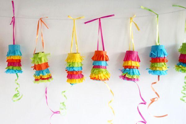 Pull piñatas