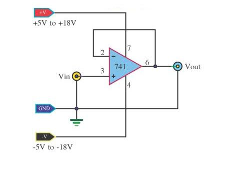 ‪#‎BufferAmplifier‬ circuit is one that provides electrical impedance transformation from one circuit to another.It is is used to transfer a voltage from a first circuit.