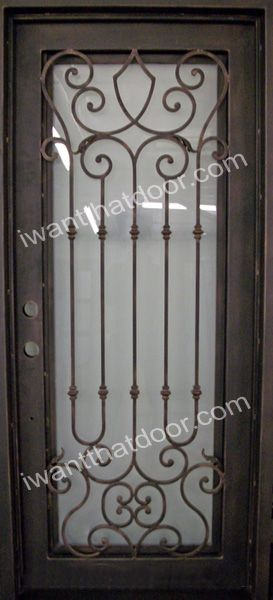 153 Best Wrought Iron Doors Images On Pinterest Wrought