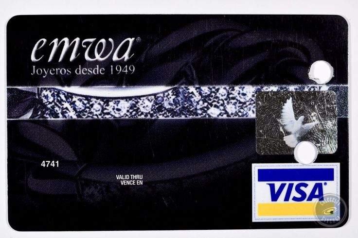 MEX - Specimen Credit Card Banregio Joyeria Emwa VISA
