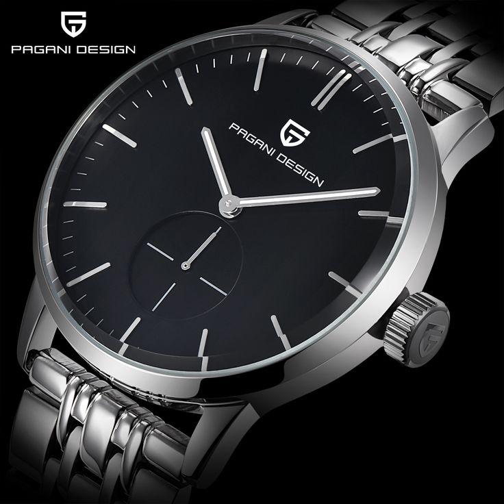 US $90.55 - Fashion Casual watch men Waterproof 30m Simple Quartz watches Luxury Brand PAGANI DESIGN relojes hombre 2017 relogio masculino