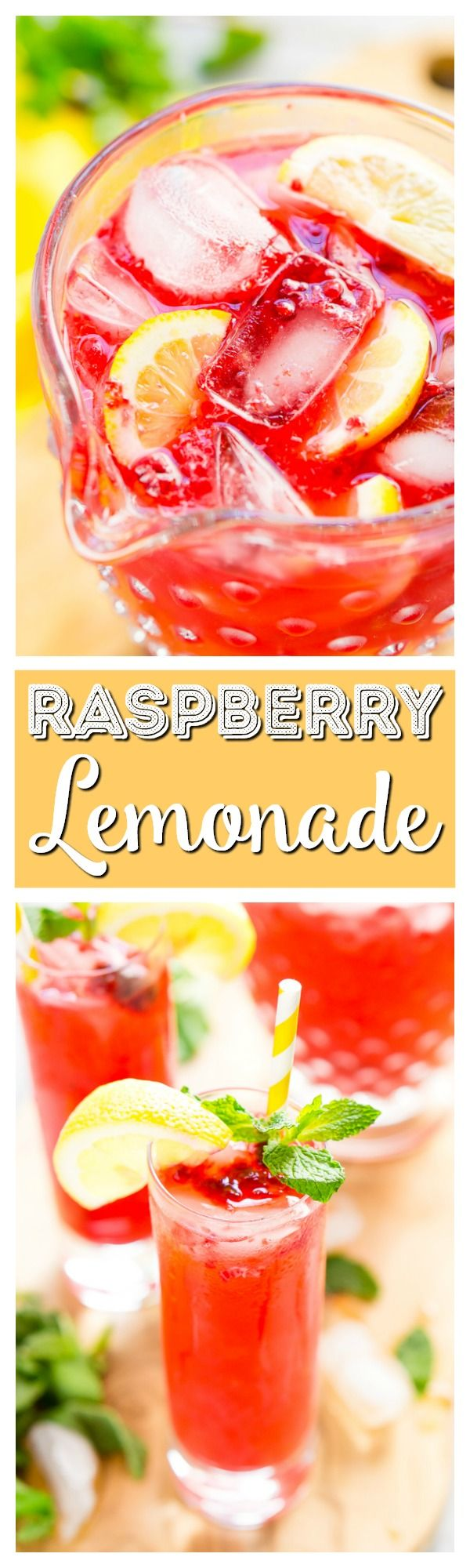 This Sparkling Raspberry Lemonade is a delicious and refreshing fruity drink that's made with raspberries, lemons, simple syrup, and club soda. via @sugarandsoulco