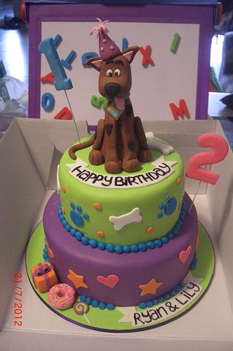 scooby doo birthday cake | Cakes for Ruby | Flickr