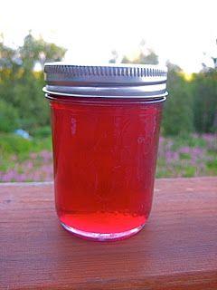 Sarah Living Simply: Homemade Fireweed Jelly, Anyone??