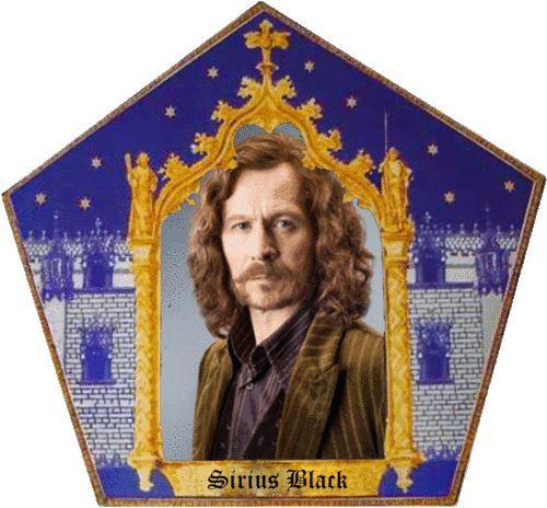 Chocolate Frog Card! Sirius Black