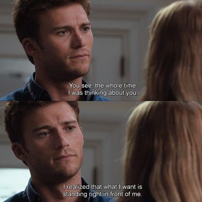 "The Longest Ride... ""I realised that what I want is standing right in front of me."""