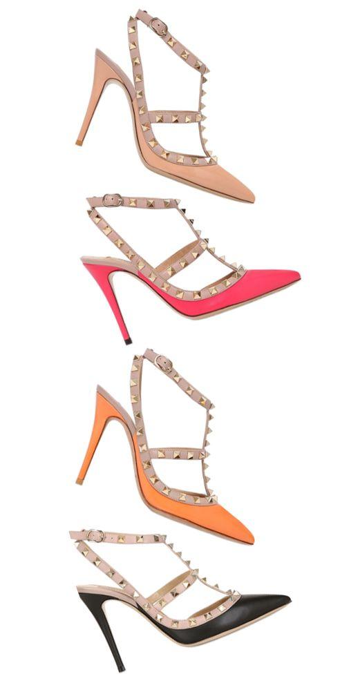 High Heel der Woche: Die Valentino Rockstud Pumps. Alles über den Kultschuh mit den Nieten