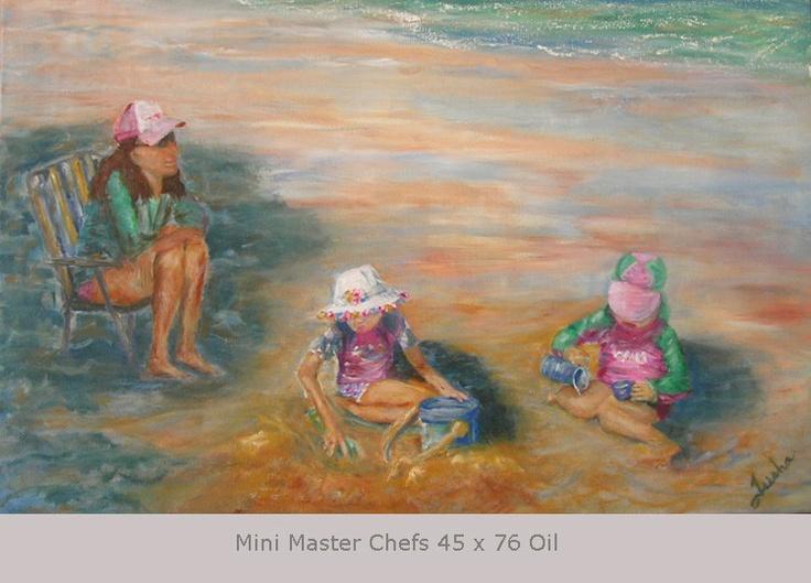 Mini Master Chefs 45 x 76 Oil