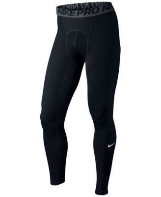 Compression fit, moisture-wicking comfort and ventilation - whatever you need, these Nike Pro Dri-fit tights deliver it.   Polyester/spandex   Machine washable   Imported   Elastic waistband    Compre