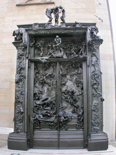 """... (""""The Gates of Hell"""", by Auguste Rodin. Depicts a scene from """"The Inferno"""", the first section of Dante's """"Divina Comedia"""". 6 metres high, 4 metres wide ..."""