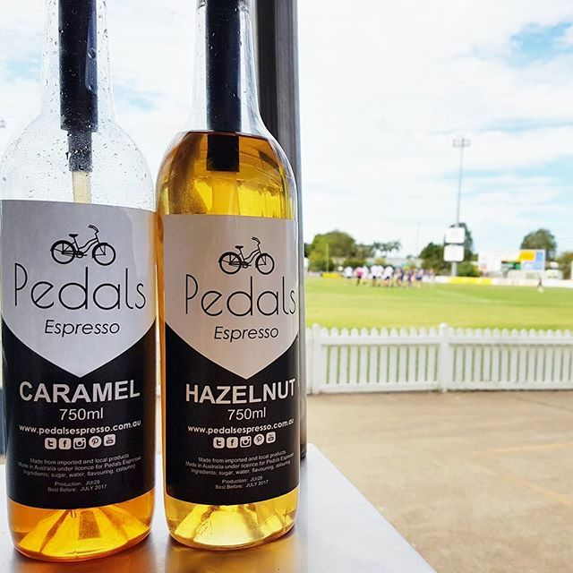 We had a visit with our Bargara franchisees Jaz and Brit while they were peddling at the local footy game, definitely a bit of fun :)