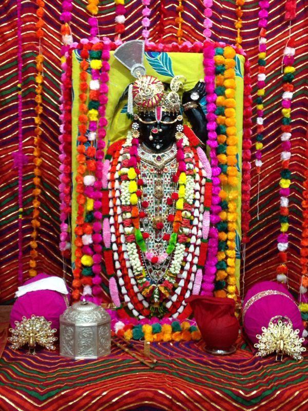 Shreenathji-Mala Shringar