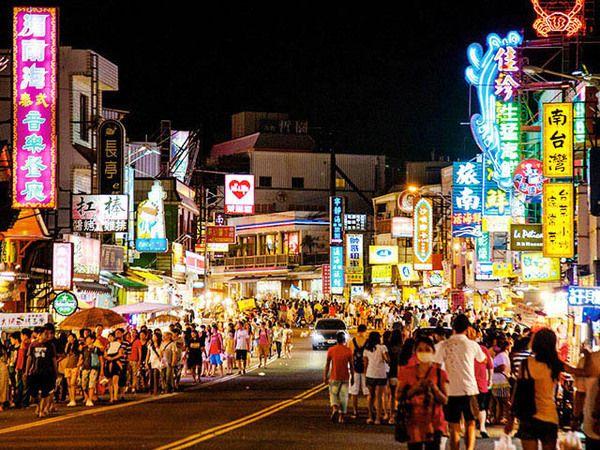 台湾 墾丁 夜市