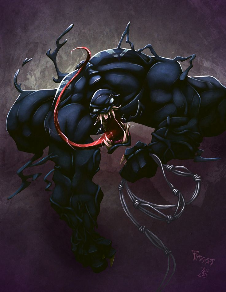Venom art by Kay Too