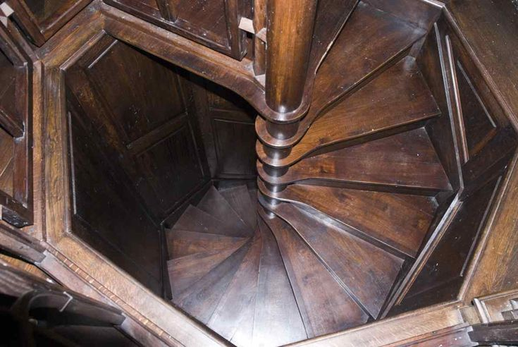 Hidden stairwell. I want one winding up (or down!) to my secret chamber!!