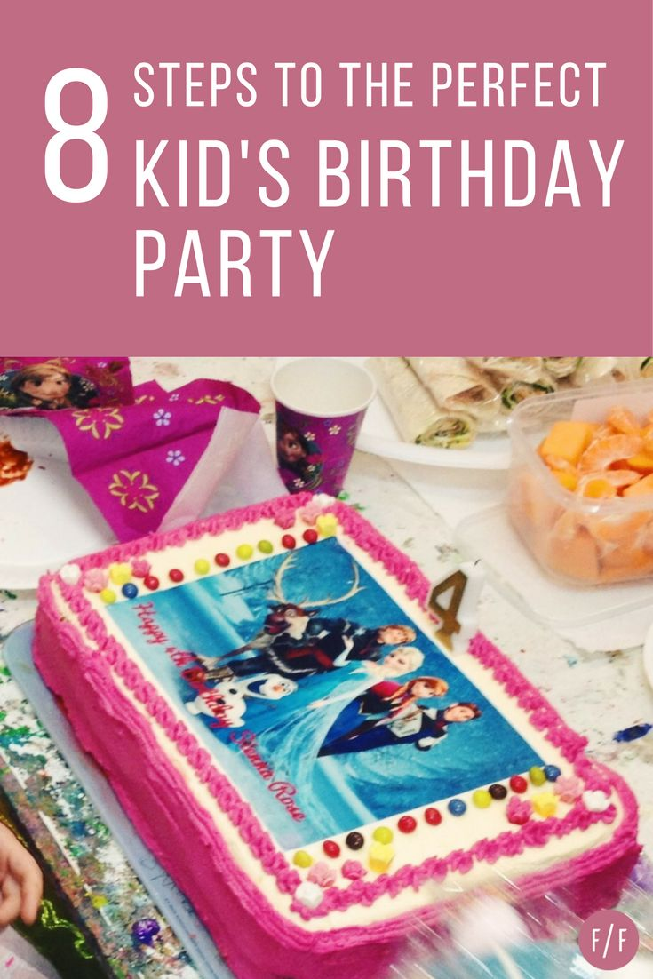 My daughter's 4th birthday party was one of my most proud mummy experiences to date.  Mind you, it was quite a bit of work to organise the party especially being a working mum of two. My plan covered everything from the budget, venue, date, food, activities and any contingencies. I've compiled my 8 top tips for organising the perfect kid's birthday party. Click thru to take the headache out of planning your next kids party. #fatfridays #kidsbirthdayparties