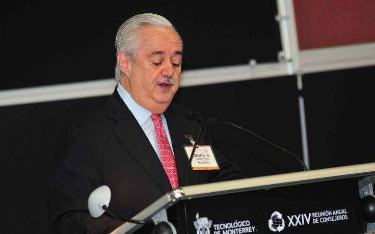 Fallece un gigante del cemento, Lorenzo Zambrano, presidente de Cemex
