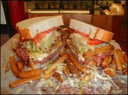 Lucky's Sandwich Company - Chicago!  Will starve myself all day for this!!Sandwiches Company, Overstuffed Sandwiches, Challenges Illinois, Man Food, Lucky Sandwiches, Sandwiches Shops, Food Coma, Sandwiches Challenges, Food Challenges