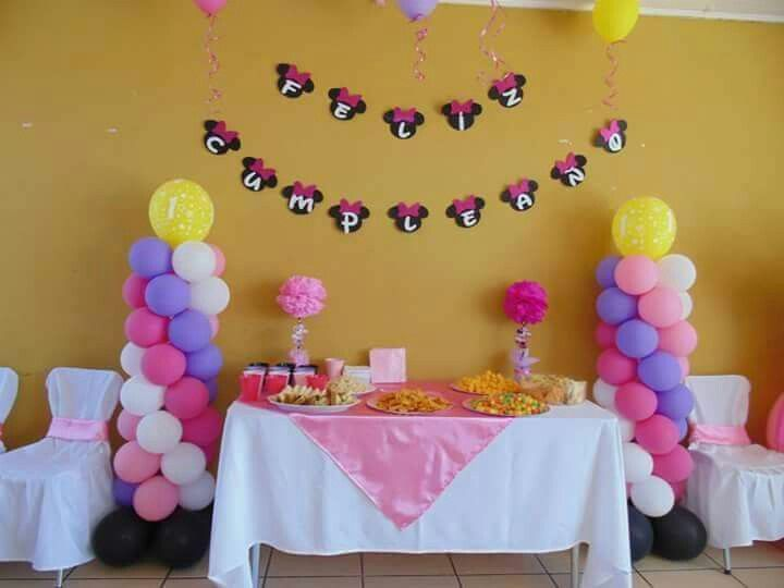 Cumpleaños Minnie