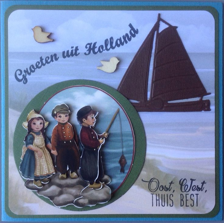Oost, west, thuis, best van Amy Design Oud Hollands