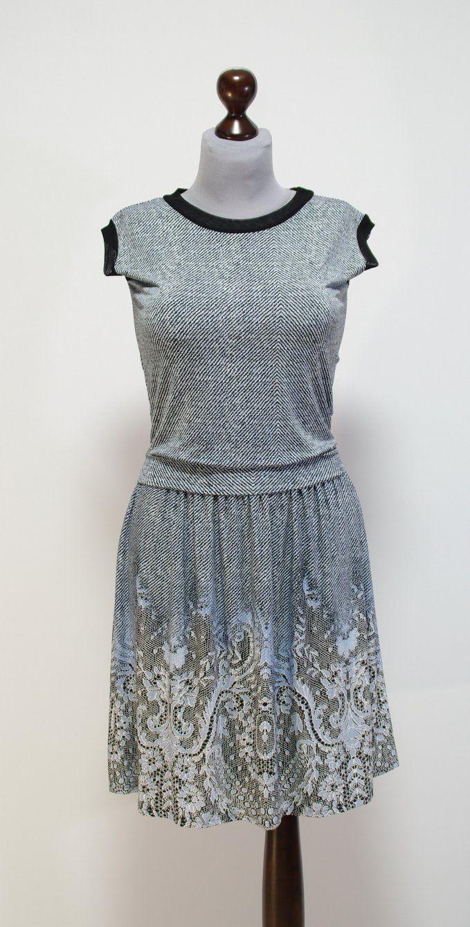 Платье цвета утренней дымки