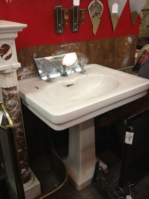 Done and Done! Vintage 1920s American Standard Pedestal Sink ...