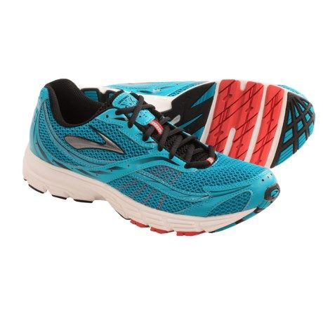 Brooks Launch Cross Training Shoes (For Men) in Caribbean Sea/Black/Silver