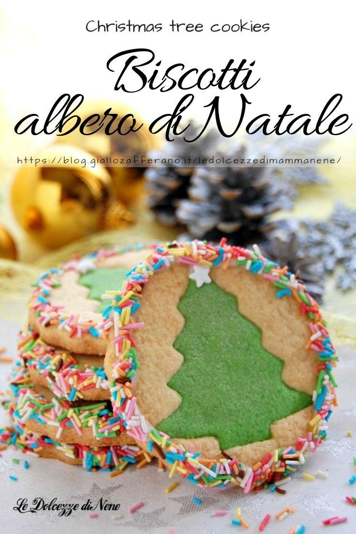 Biscotti Come Regalo Di Natale.Biscotti Albero Di Natale Christmas Tree Cookies Come Idea Regalo