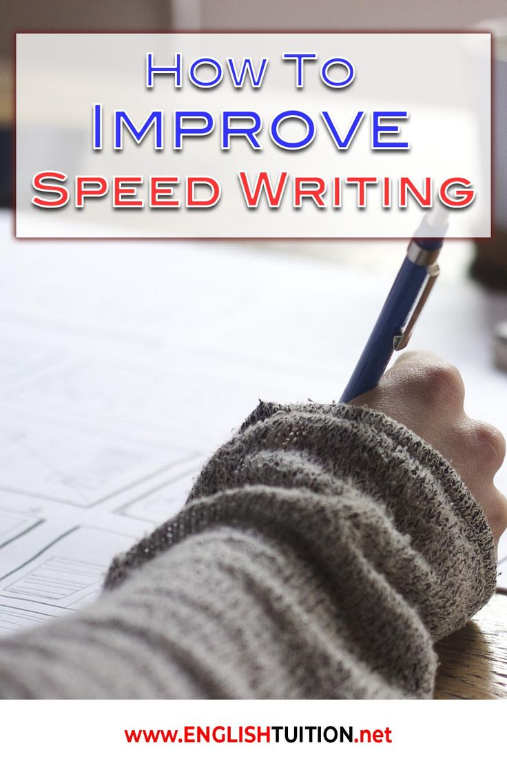 How To Improve Speed Writing for Students of IGCSE English