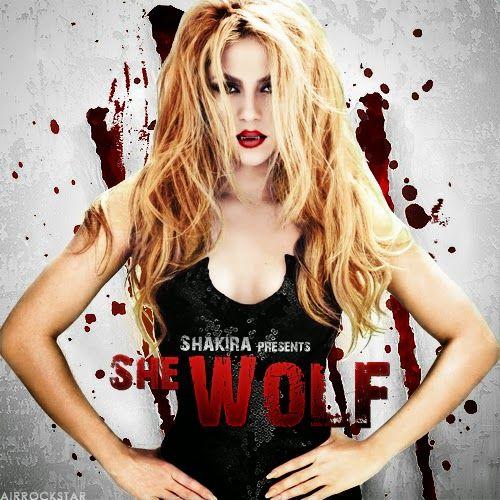 Muzic Pool: SHAKIRA : SHE WOLF, #shakira, #lyrics