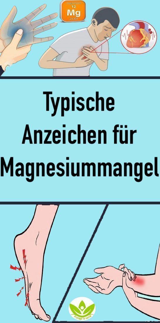 Typische Anzeichen für Magnesiummangel – Susannefaltin