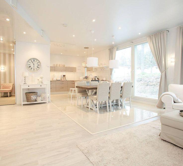 Open space at home is so nice but only then when it's cleanAvoin tila on ihan kivan näköinen mutta vain kun kotona on siivottu. Sotkuinen nurkkaus ja sekainen keittiö näkyy kaikkialle ja häiritsee silmiäni. Sekö lienee syynä miksi olen jatkuvasti siivoamassa #home_sweet_home #cleanhouse #puhdaskoti