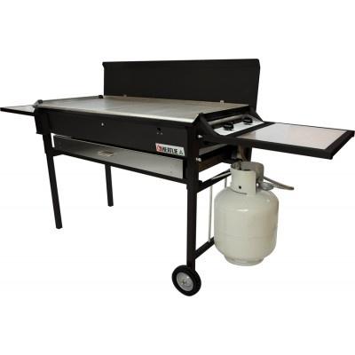 Heatlie HM850PCPB Powder Coated Black BBQ Package - http://www.appliancesalesdirect.com.au/shop-by/bbq/heatlie-hm850pcpb-powder-coated-black-bbq-package-157