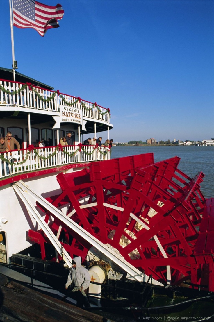 Paddle Steamer 'Natchez', on the Mississippi River, New Orleans, Louisiana