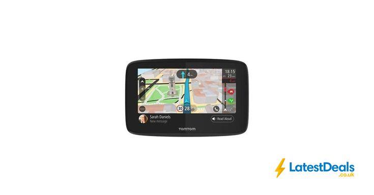 "TomTom GO 520 5"" Sat Nav Wi-Fi Lifetime World Maps Traffic Speed Cameras Updates, £149.99 at ebay"