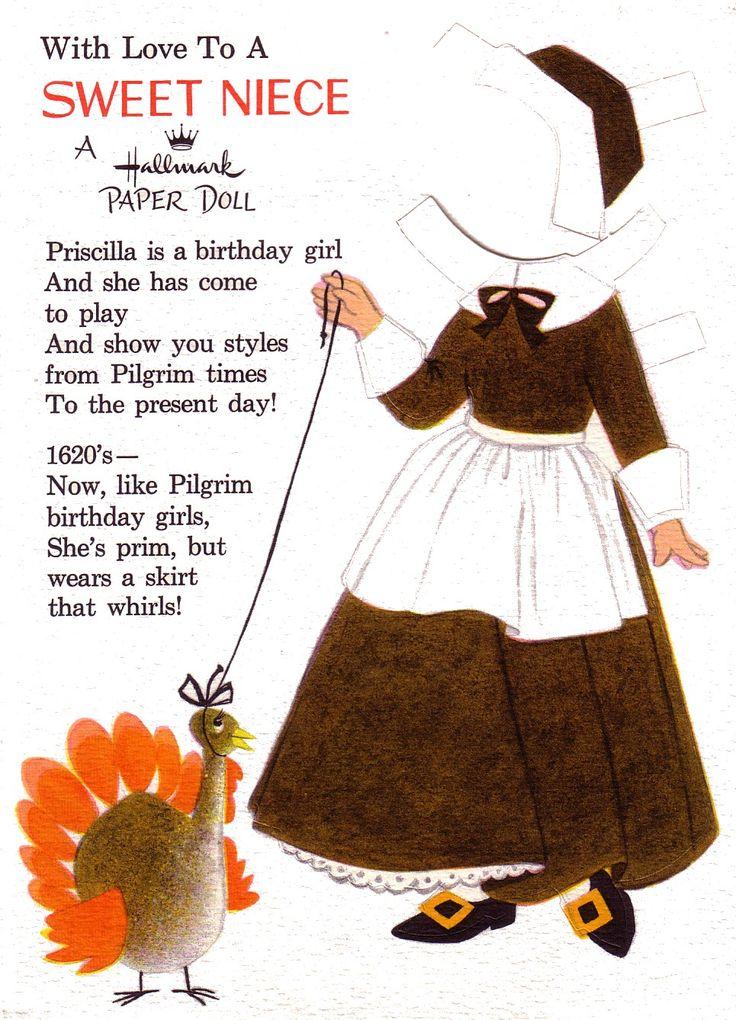 Priscilla's birthday fashions thru the years, Hallmark greeting card (3 of 6)