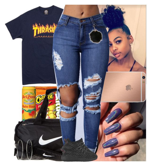 """""""Untitled #753"""" by msixo ❤ liked on Polyvore featuring NIKE, Mura and Accessorize"""