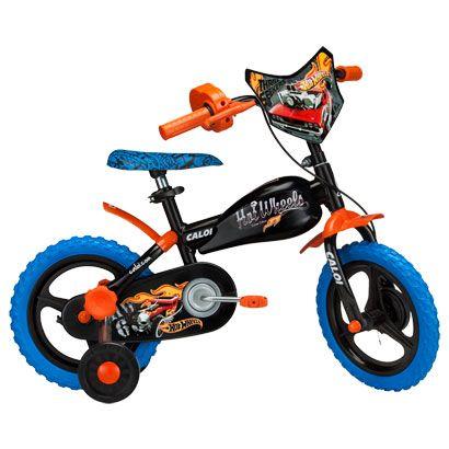 Acabei de visitar o produto Bicicleta Caloi Hot Wheels Infantil - Aro 12