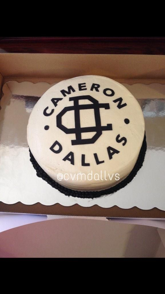 Cameron Dallas Birthday Cakes